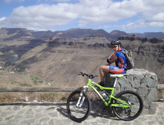 Gran Canaria – Grand Canyon – rowerowy raj