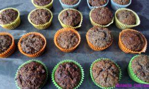 sportowe maszkiety – makowe muffinki