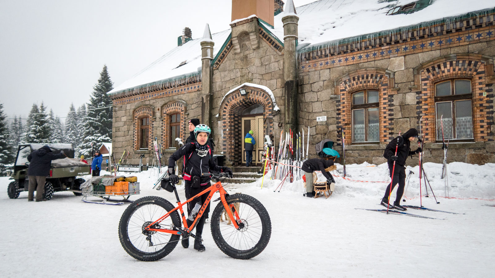 Orle na fat bike-u