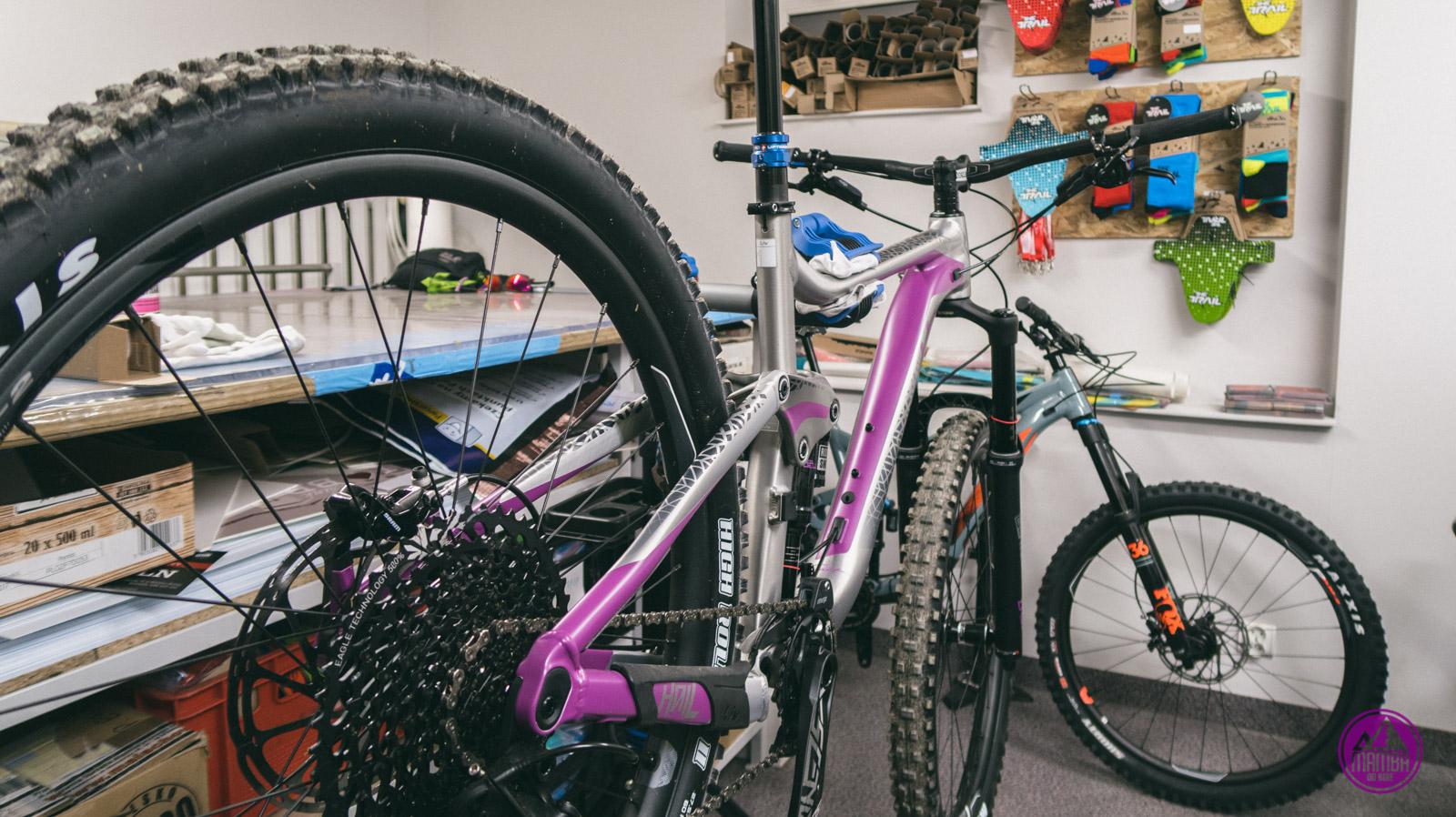 Ochronna folia na rower