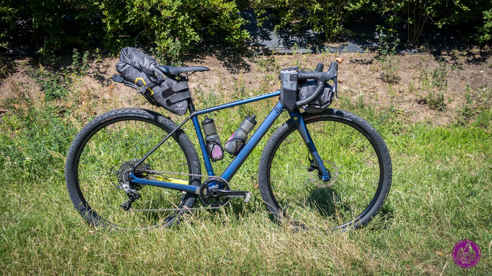 Rower bikepackingowy na wyprawę