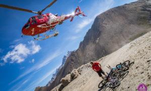 HELI BIKING ZERMATT – czyli rowerem w chmurach