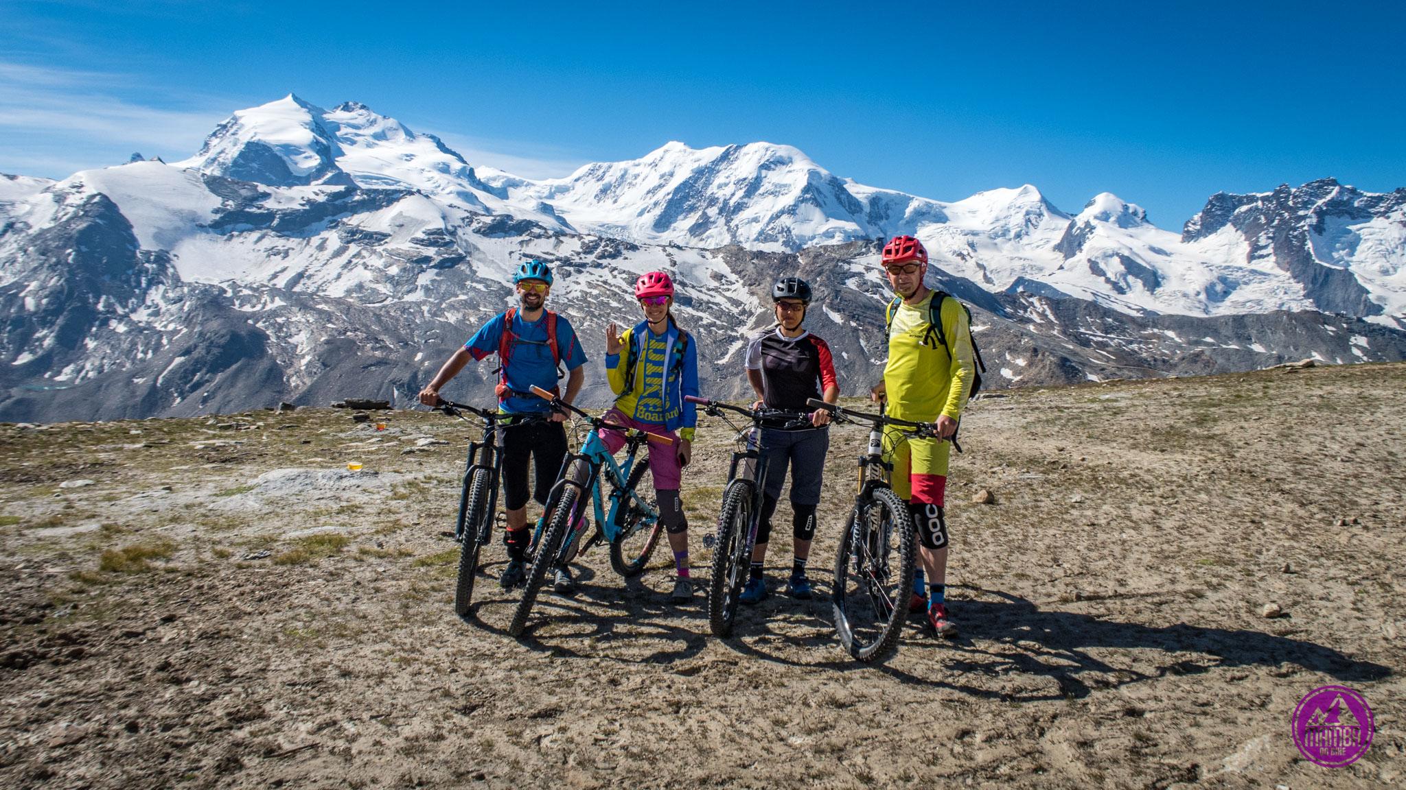 Heli biking - ekipa