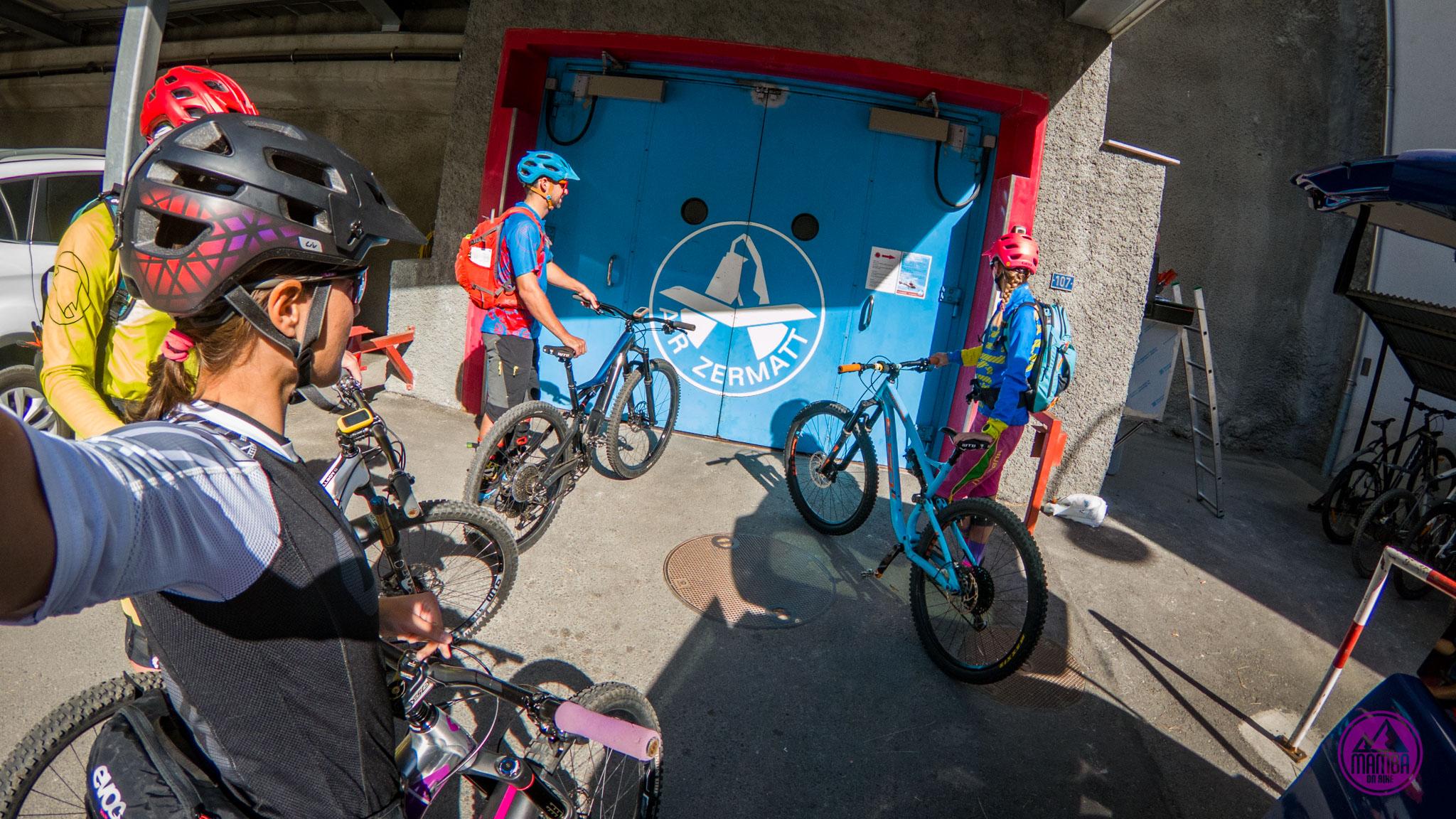 Heli biking -