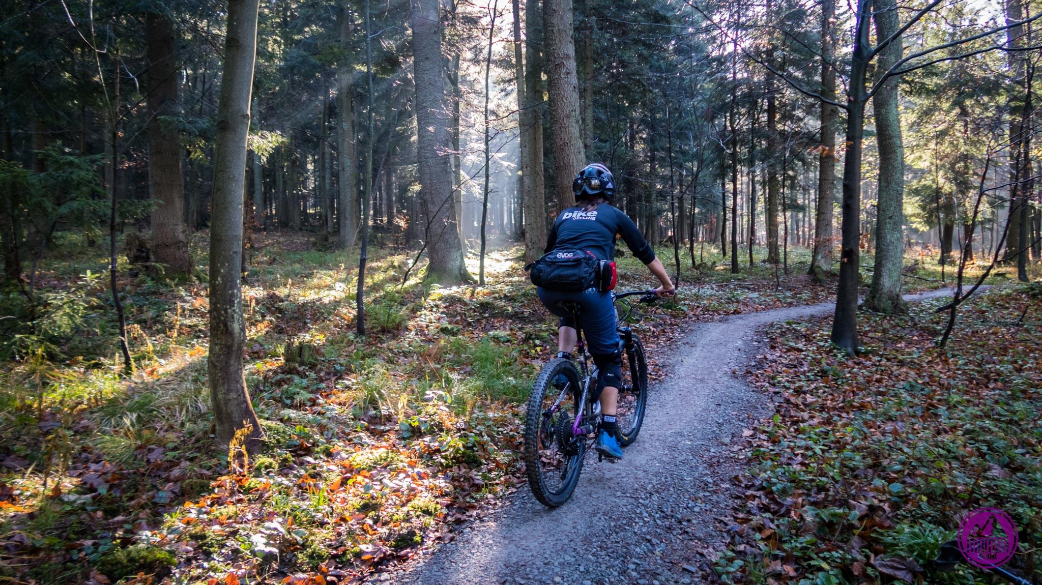 Babia Góra Trails - podjazd
