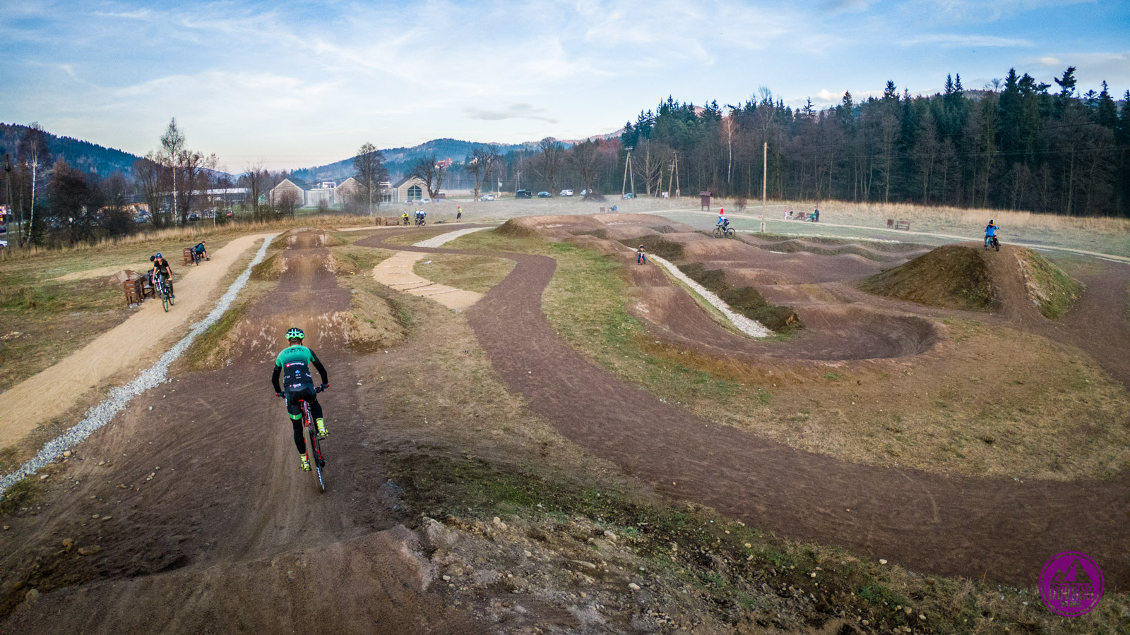 Babia Góra Trails - pump track
