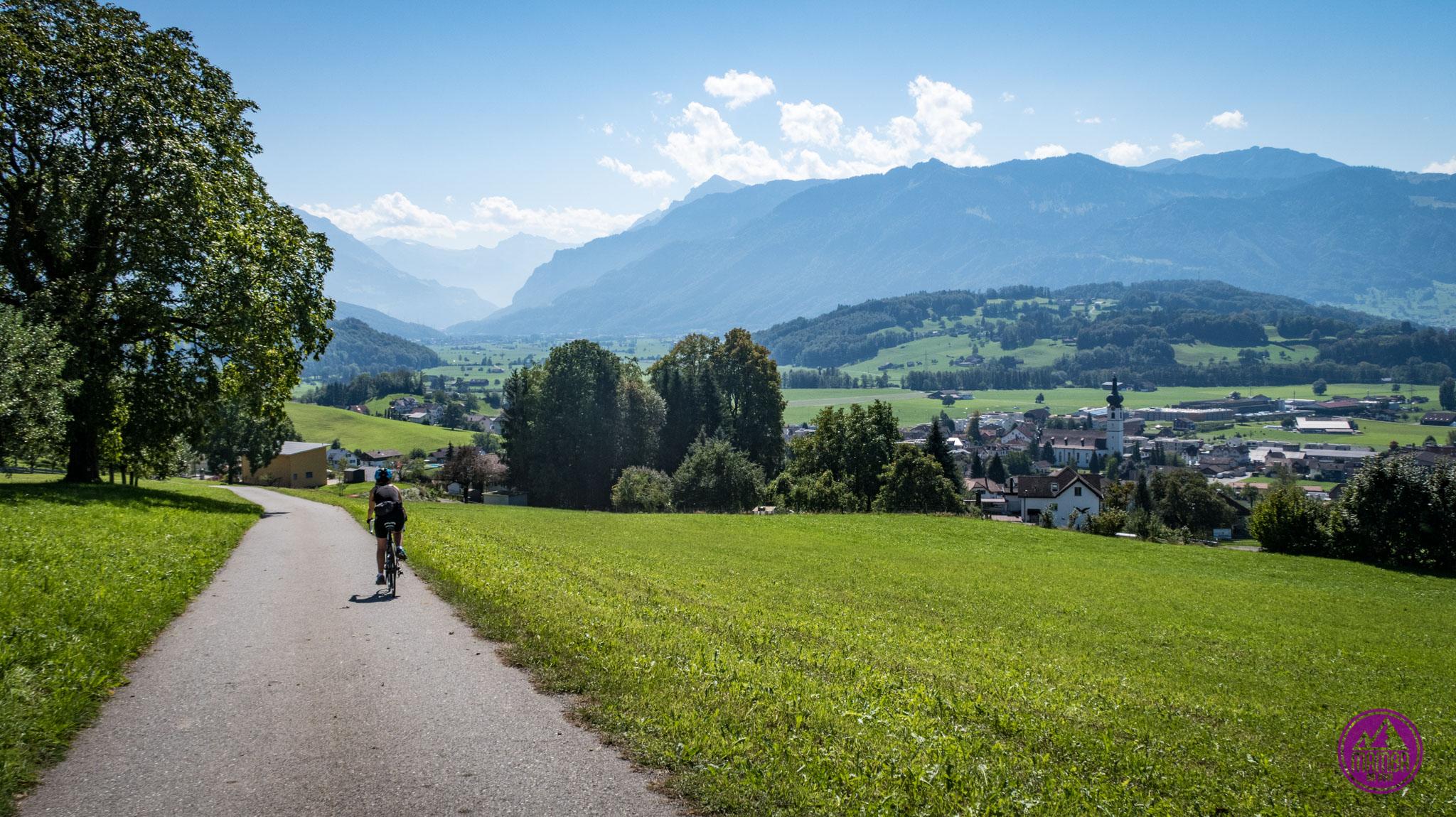 Alpejska Trasa Panoramiczna dzień pierwszy