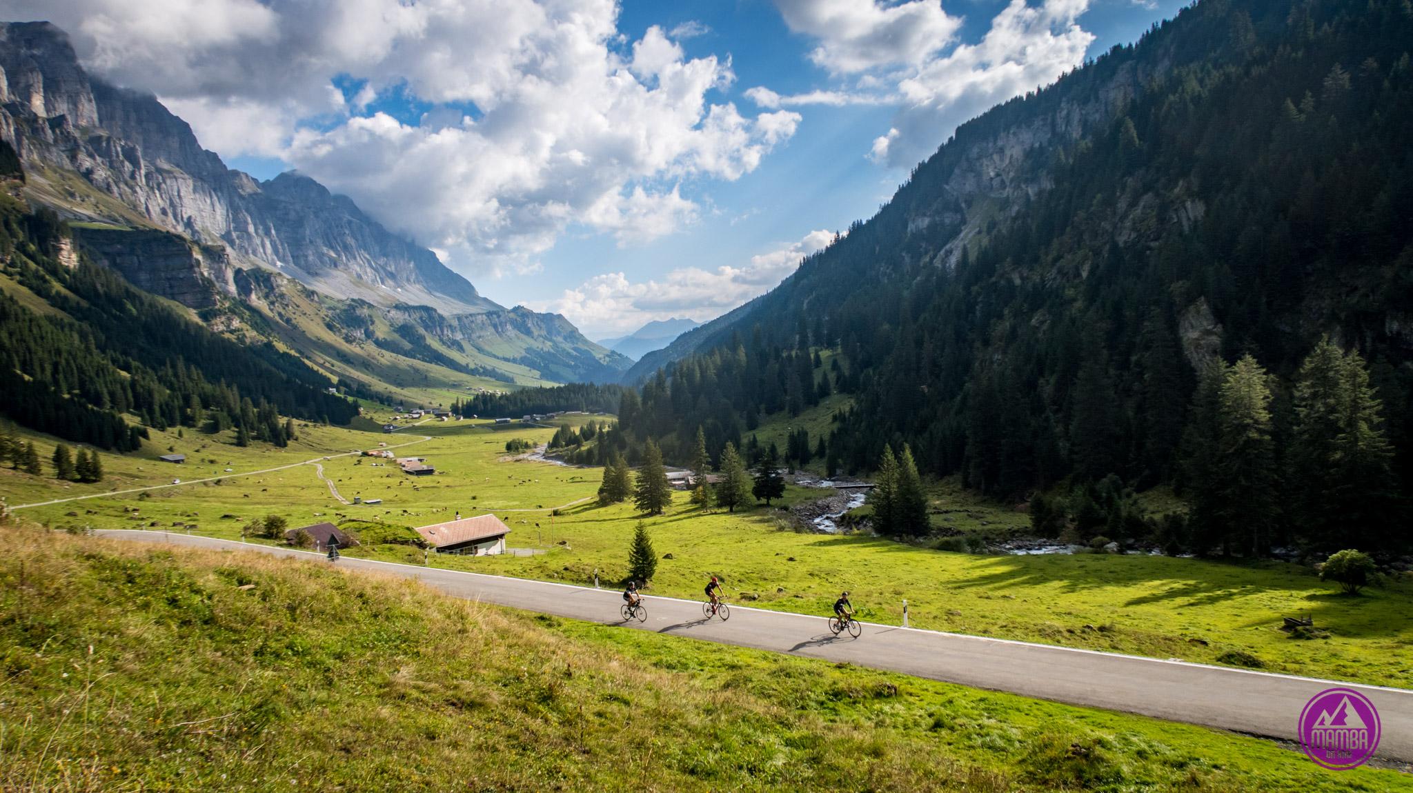 Alpejska Trasa Panoramiczna na rowerze