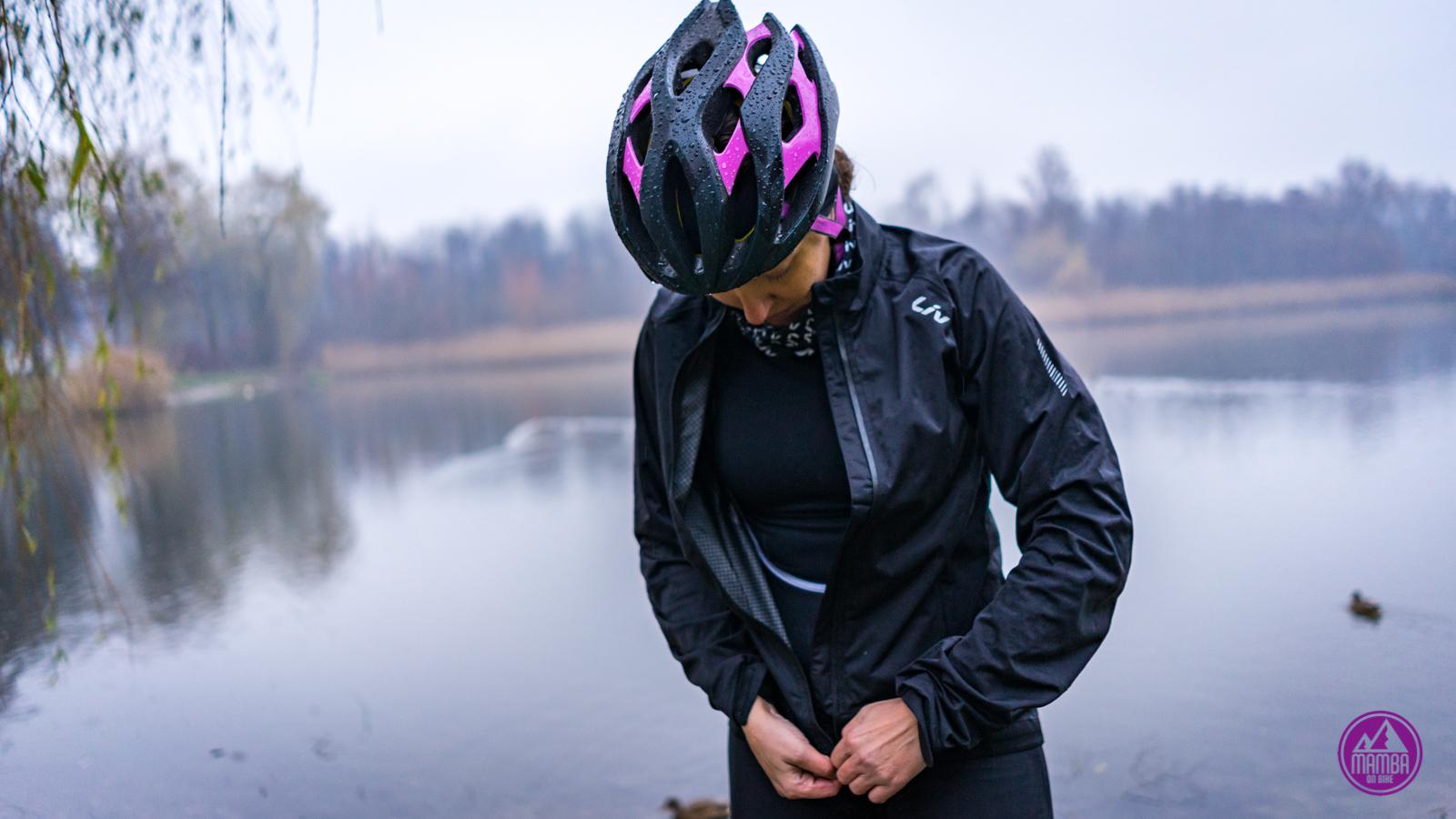 W co ubrać się jesienią na rower?