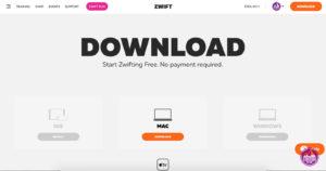 Zwift - aplikacja