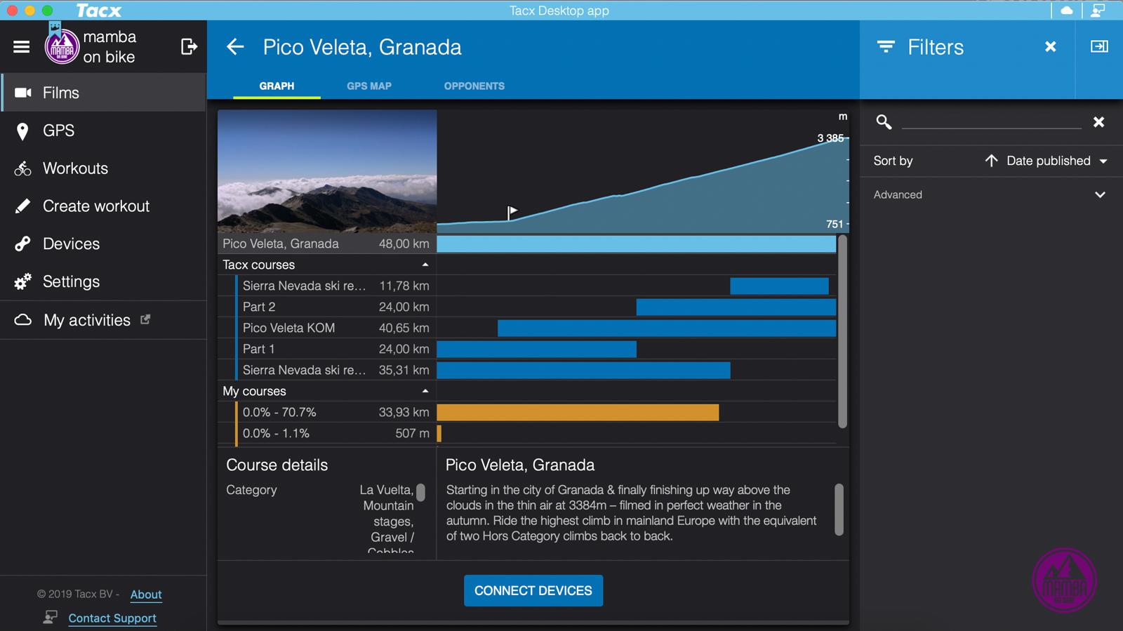 Tacx Desktop App - Pico