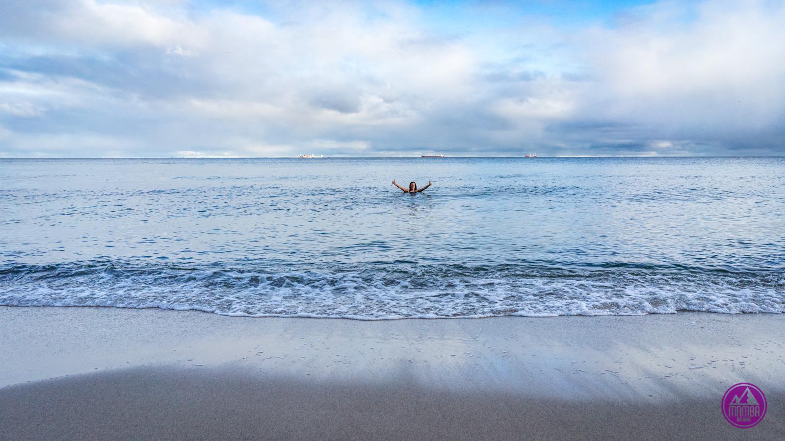 Morsowanie nad morzem