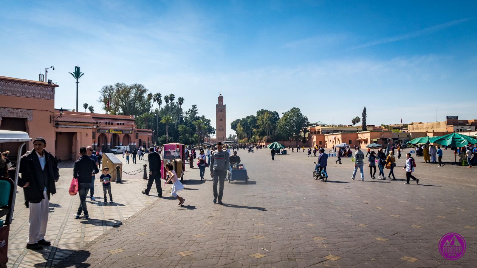 Maroko plac Dżami al-Fana
