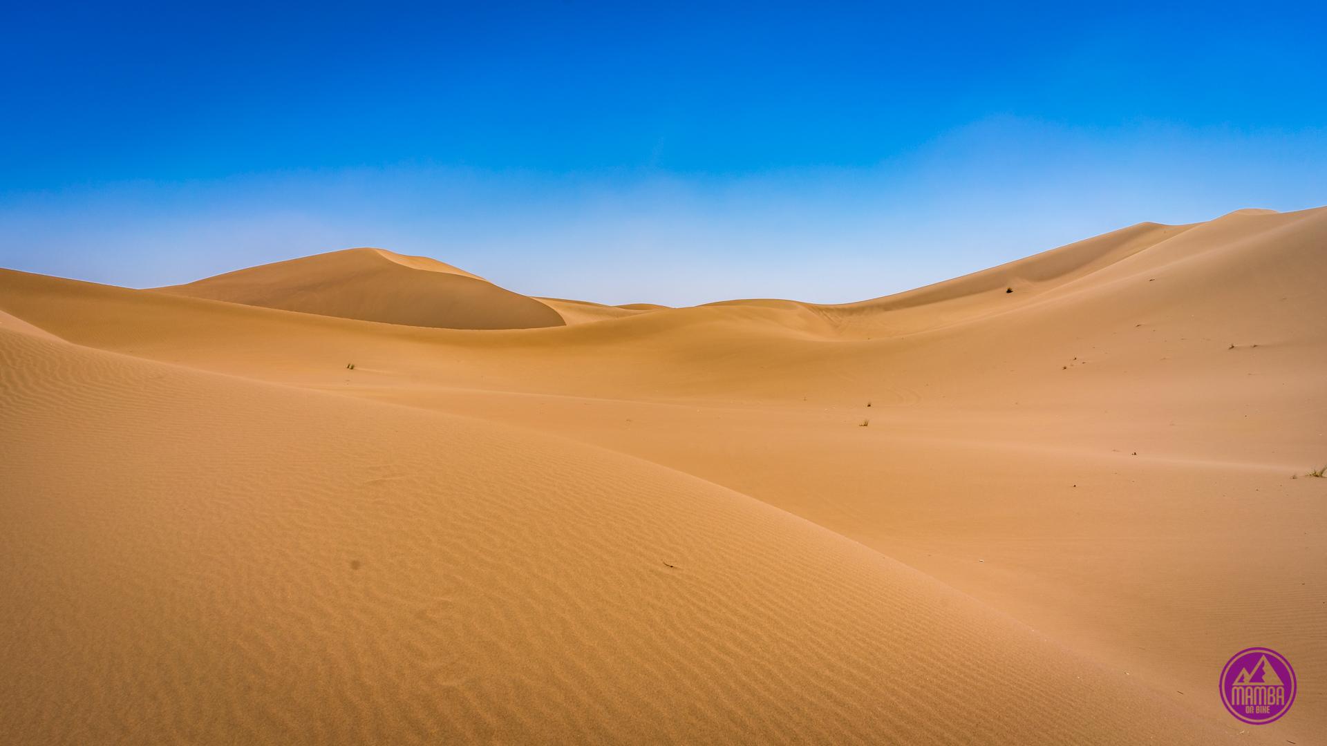 Sahara - Erg Chegaga na rowerze