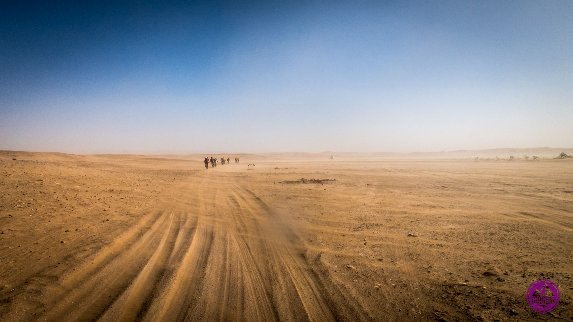 Burza piaskowa na saharze