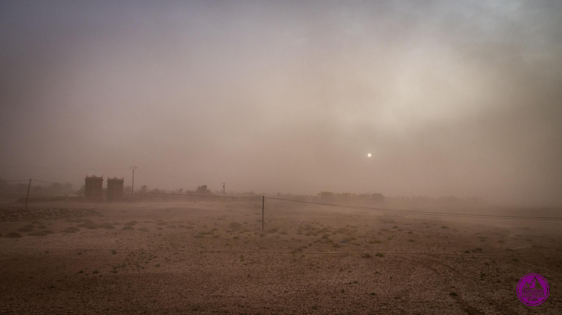 Burza piaskowa Mhamid