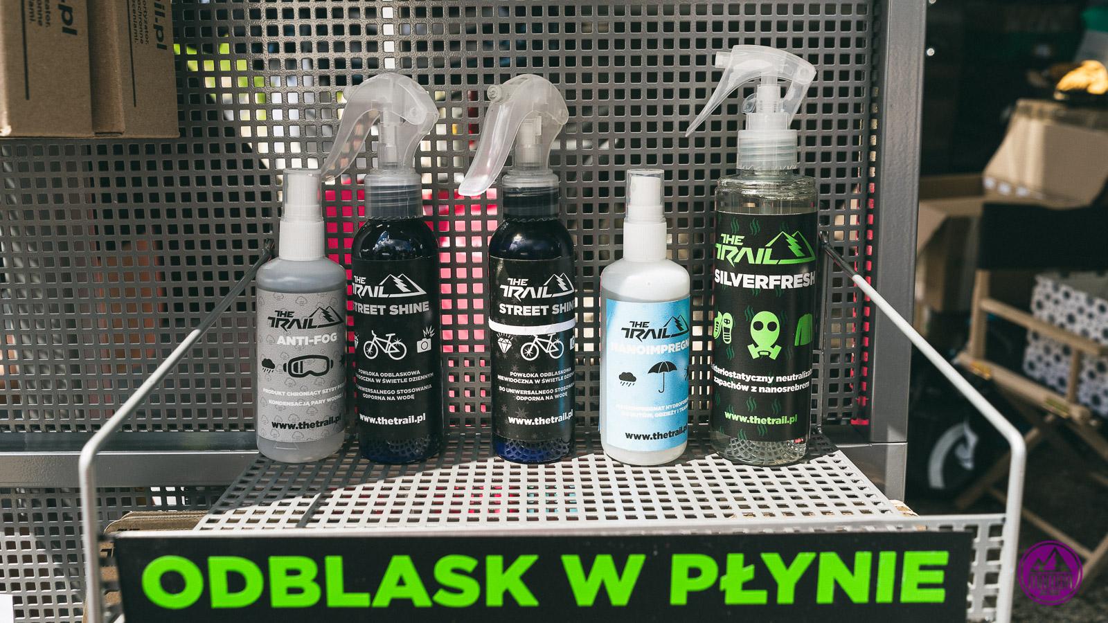 The Trail - odblask w sprayu