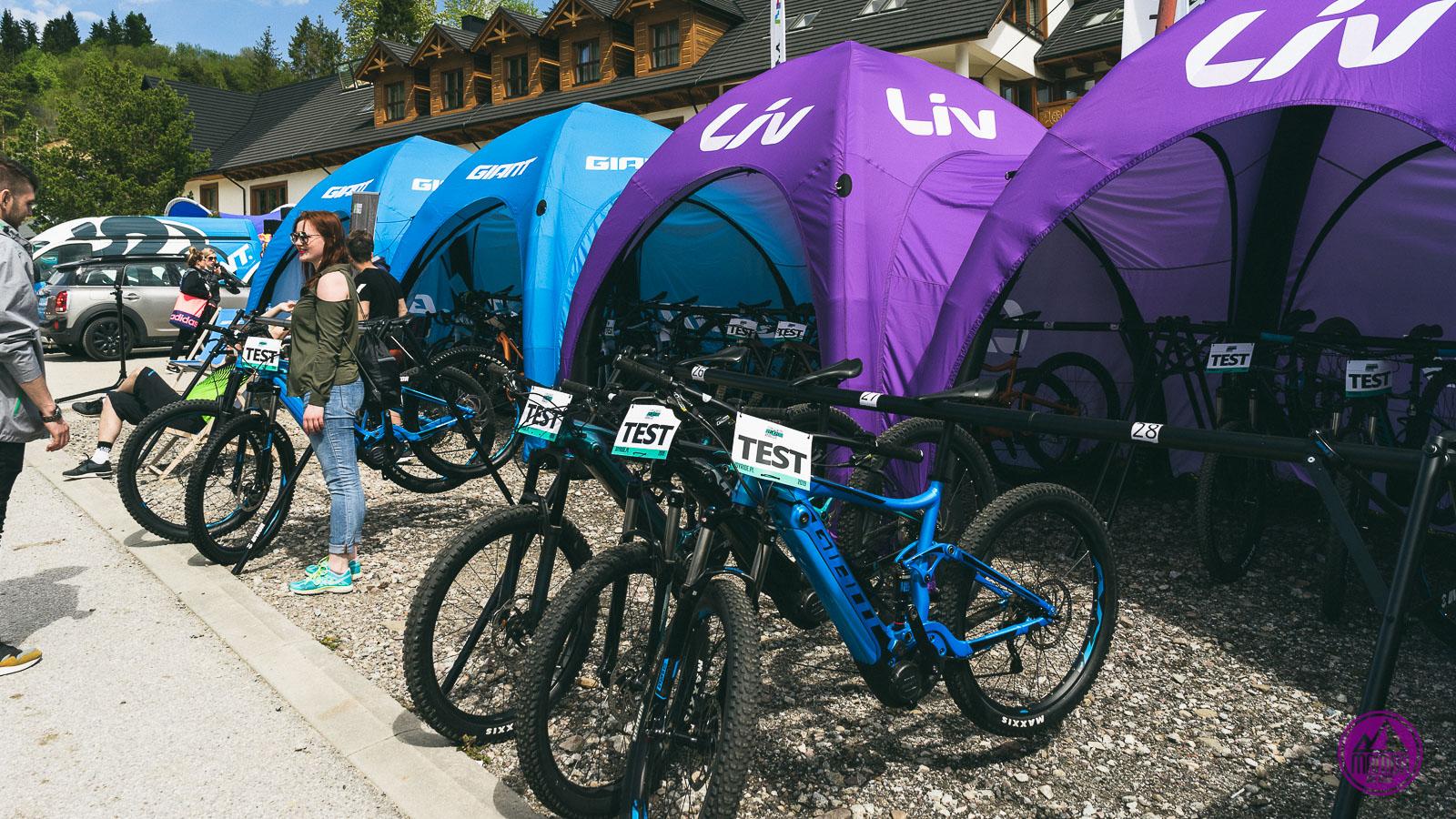 Testy rowerów.