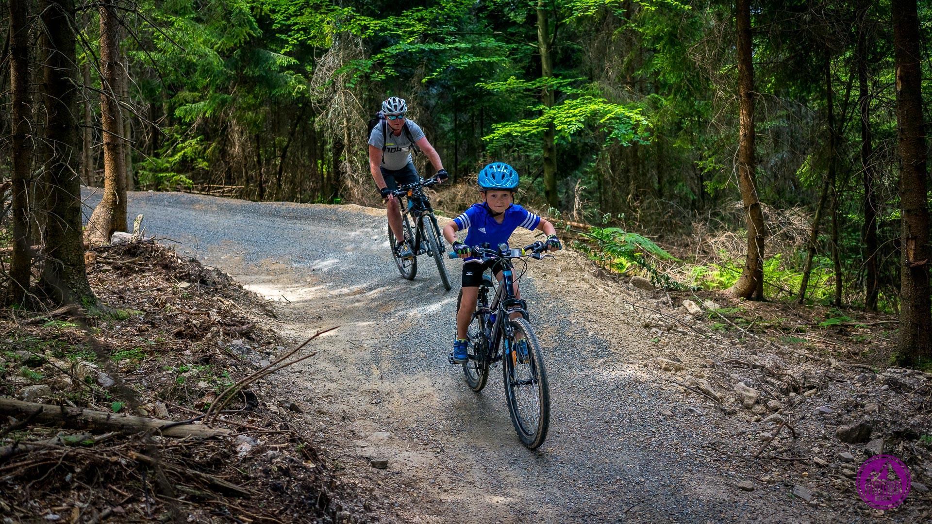 Wisła Skolnity - trasa rowerowa dla dzieci