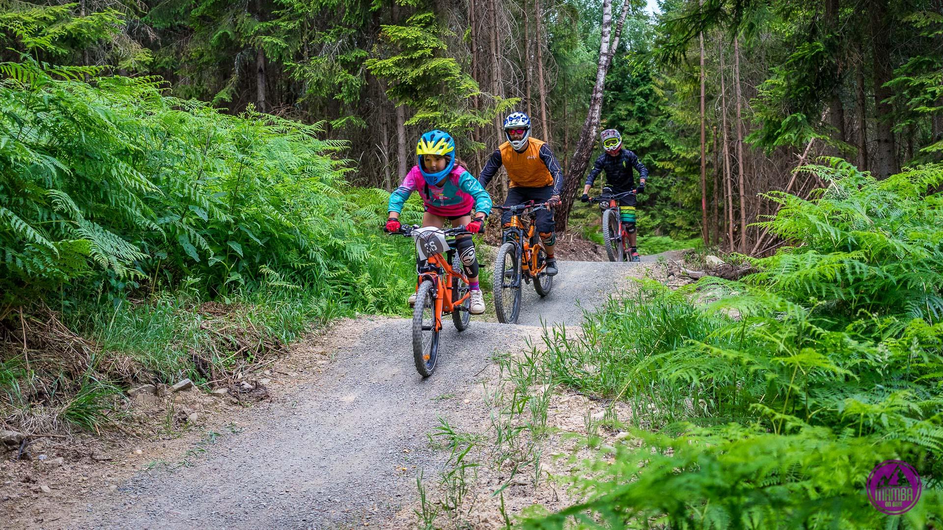 Wisła Skolnity - the trail