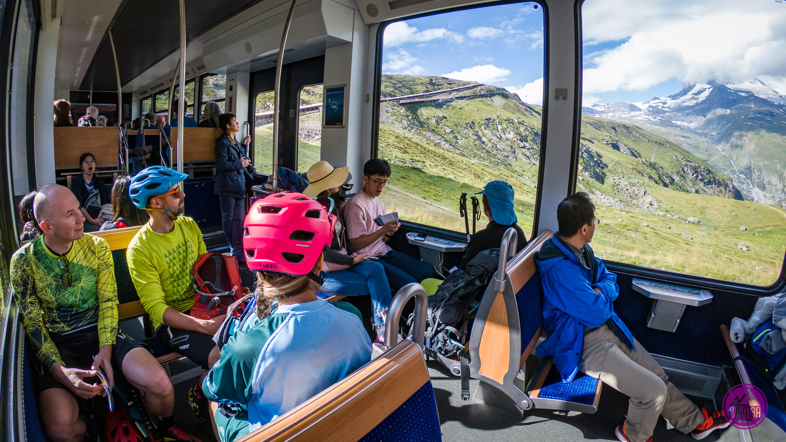 Zermatt - Gornergrat w kolejce