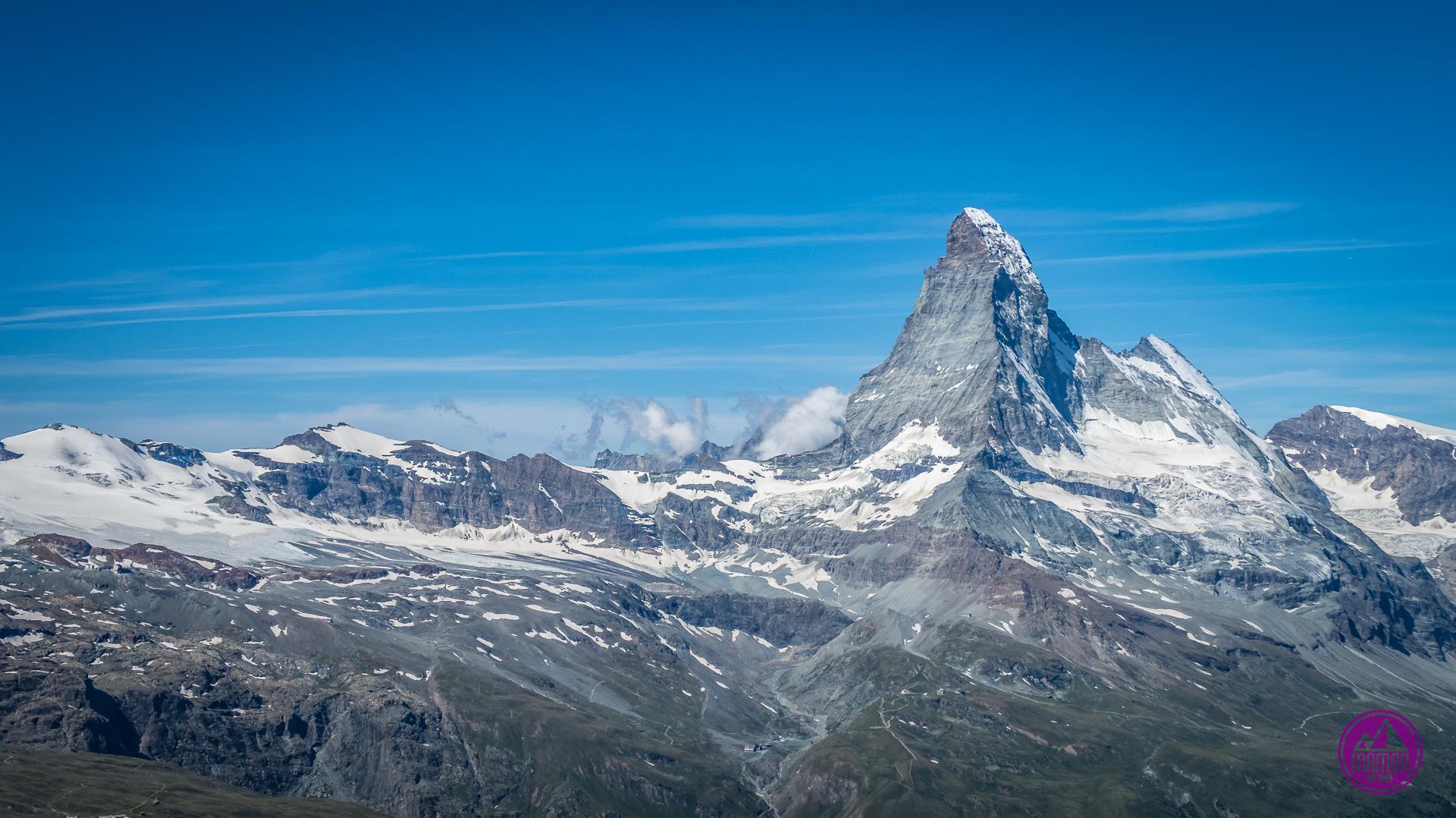Widok na Matterhorn