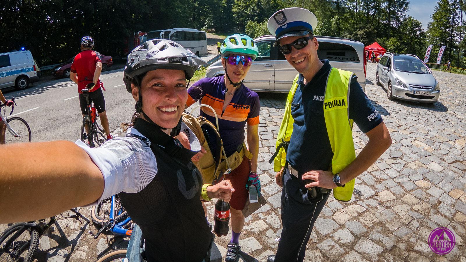 Bimber bike - z policjantem
