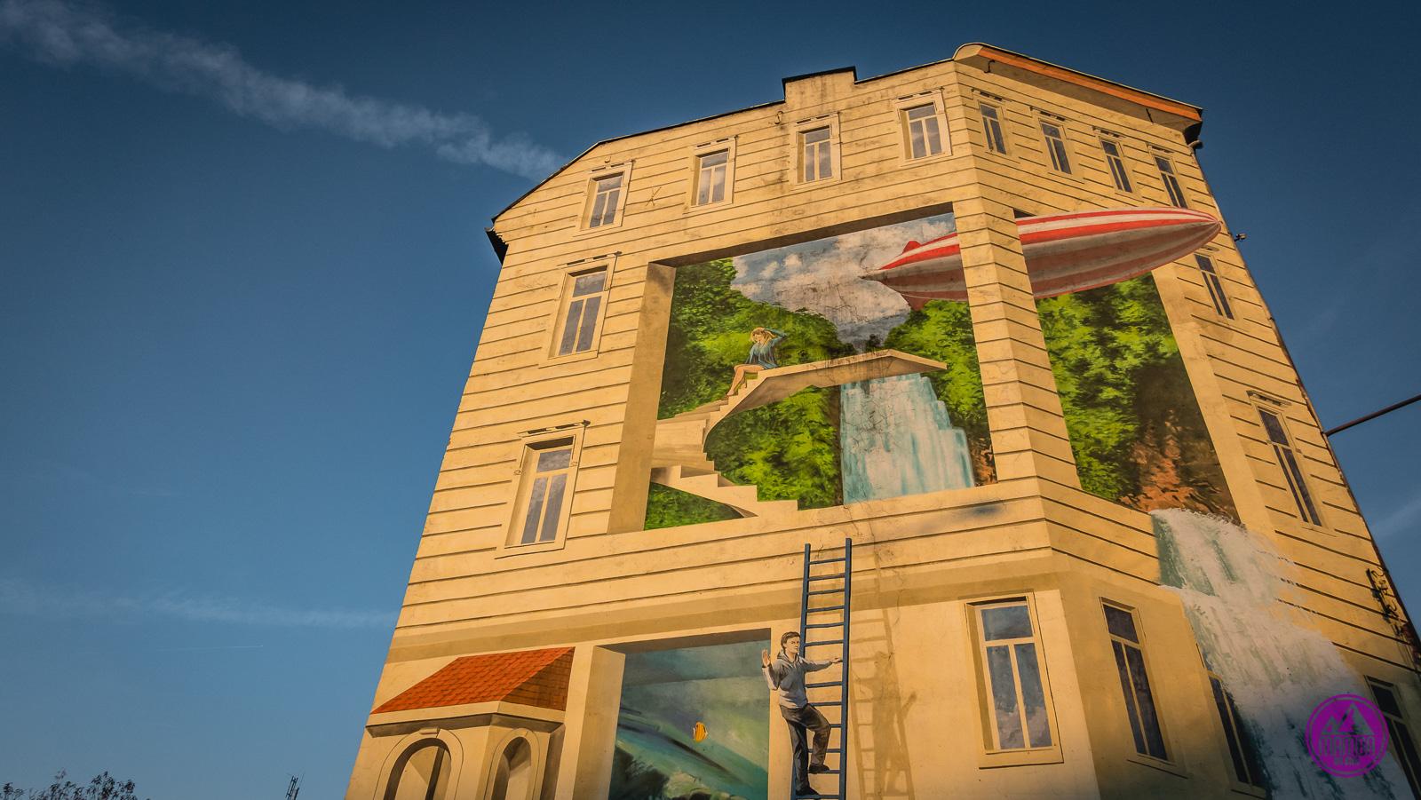 Mural trójwymiarowy
