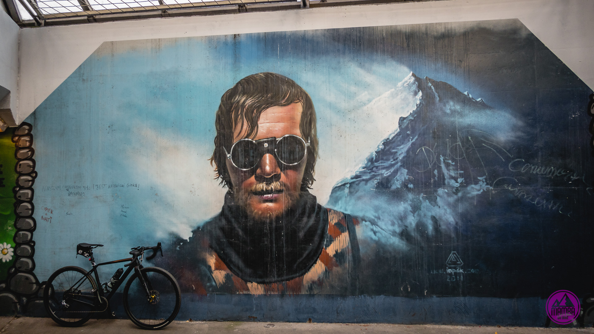 Jerzy Kukuczka mural