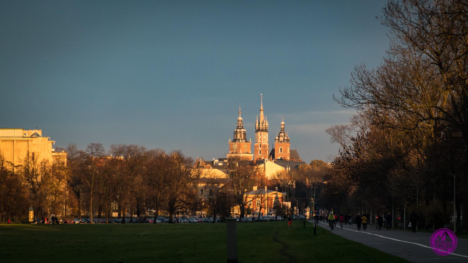 Kraków na gravelu Wawel