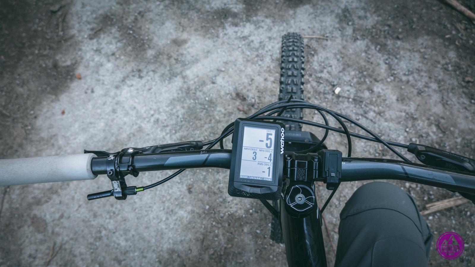 Licznik rowerowy Wahoo.