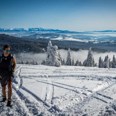 Rysianka – zimowy spacer na krótko z Metodą Wima Hofa