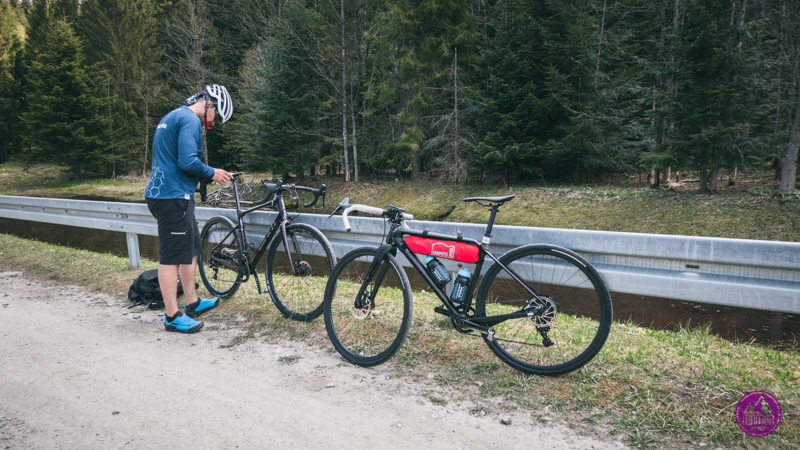 Gorce na rowerze