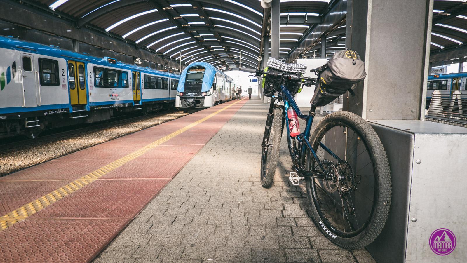 Dworzec w Katowicach.