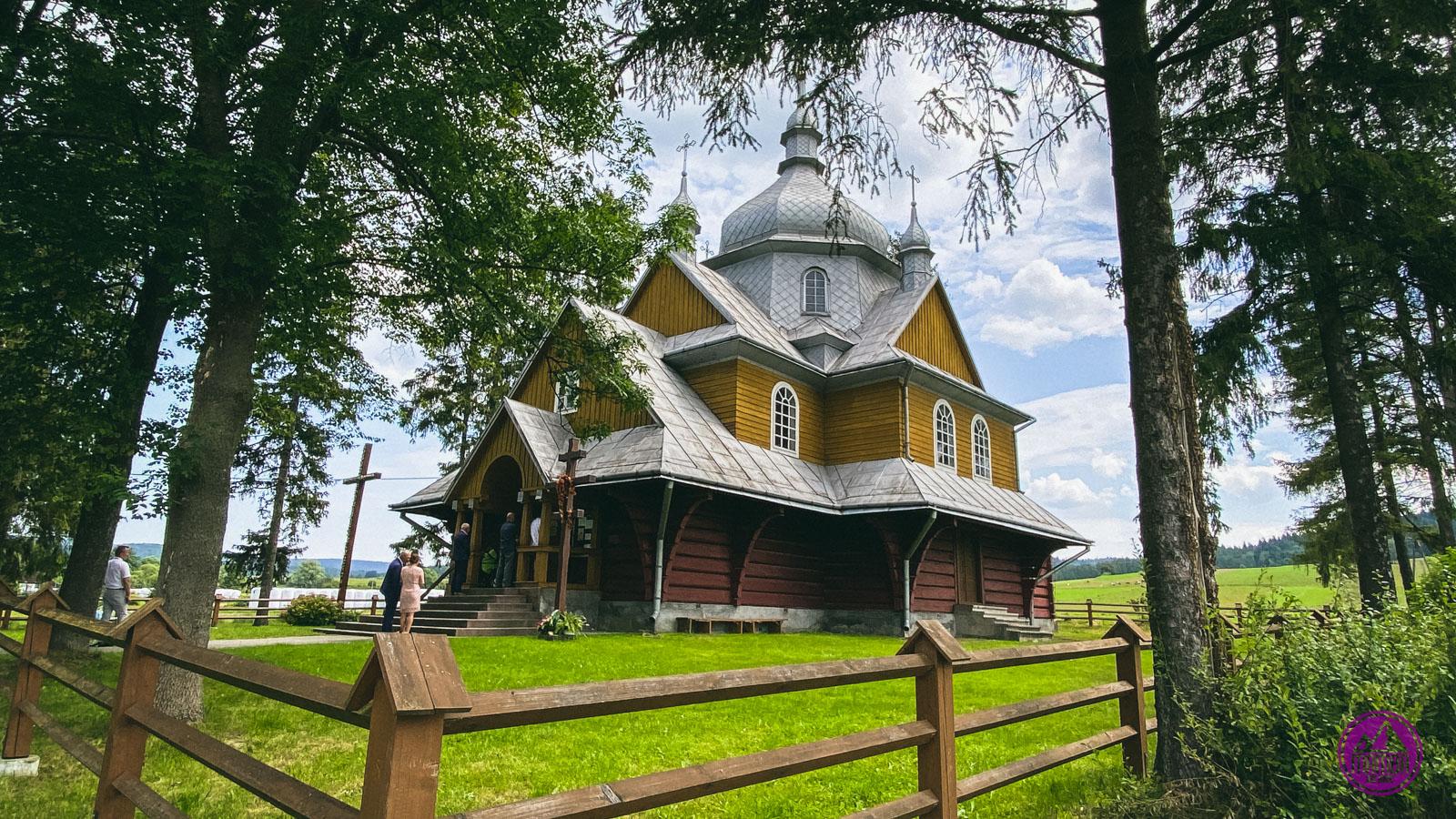 Beskid Niski - cerkiew Gładyszów