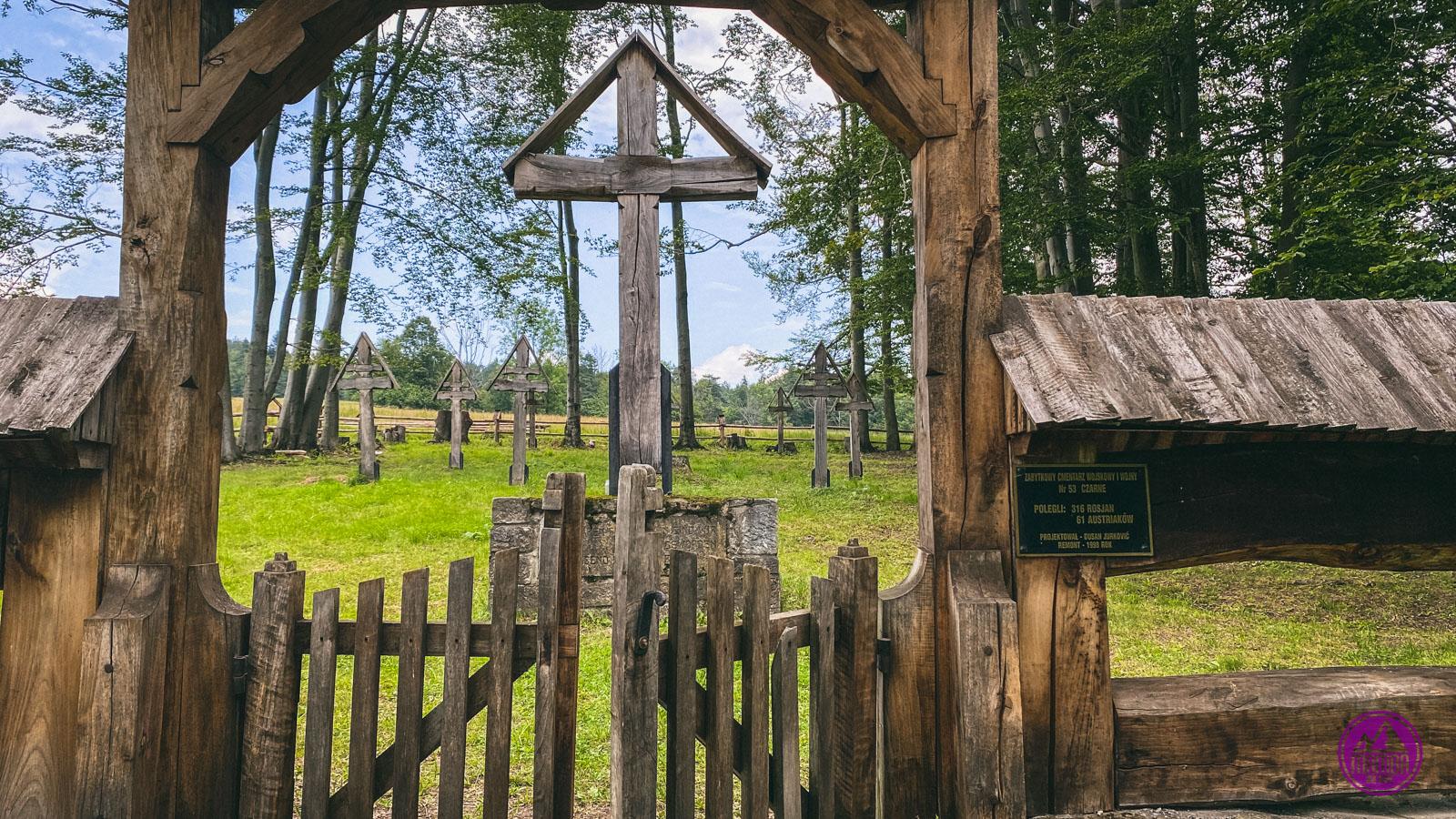 Beskid Niski cmentarz łemkowski