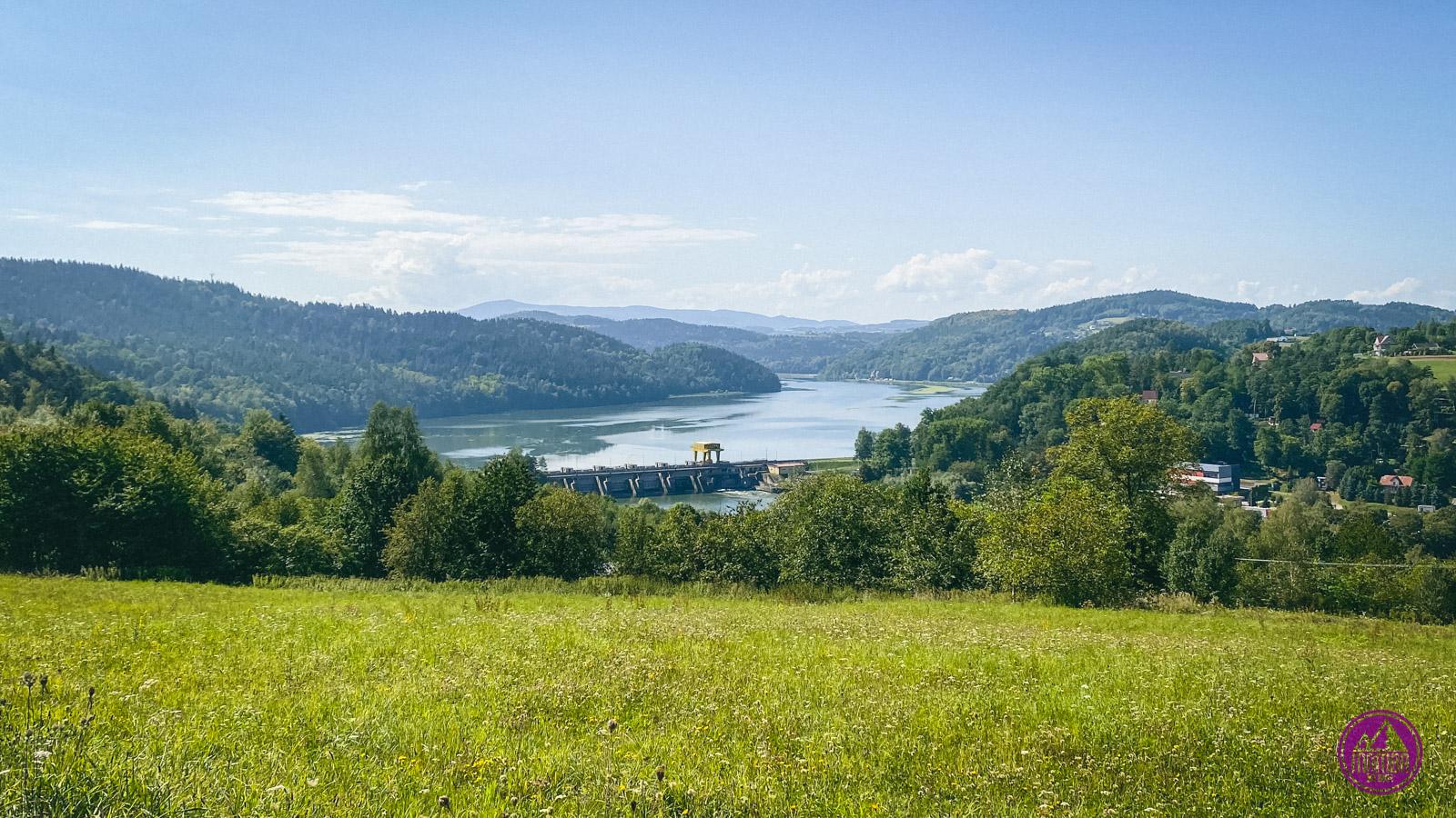 Velo Dunajec - Jezioro Czchowskie