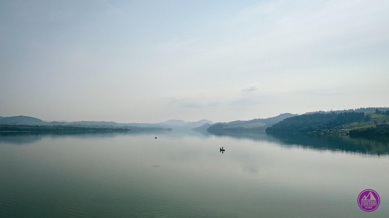 Jezioro Czorsztyńskie - Velo Dunajec