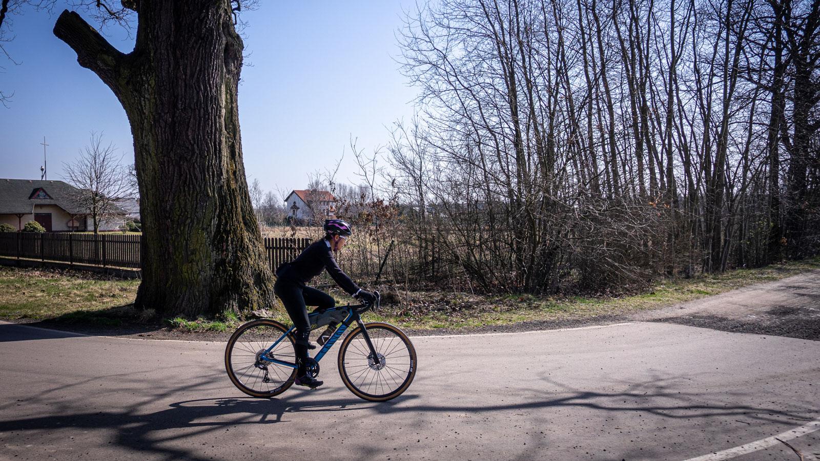 Kobiór ścieżka rowerowa