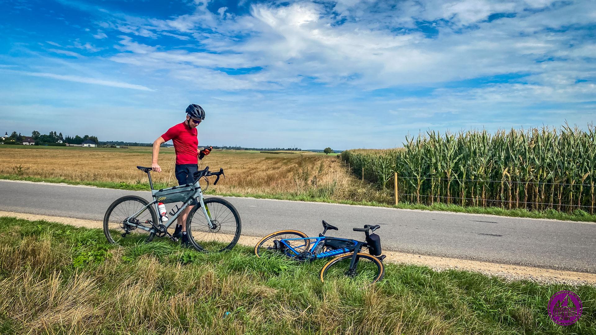 Piotrków Trybunalski Pilica na rowerze