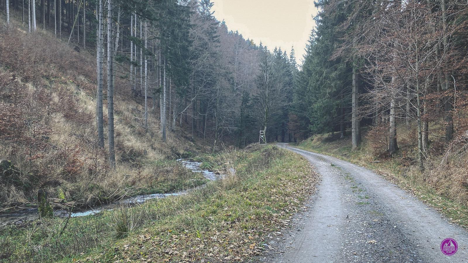 Góry Bialskie - Młyńska Droga