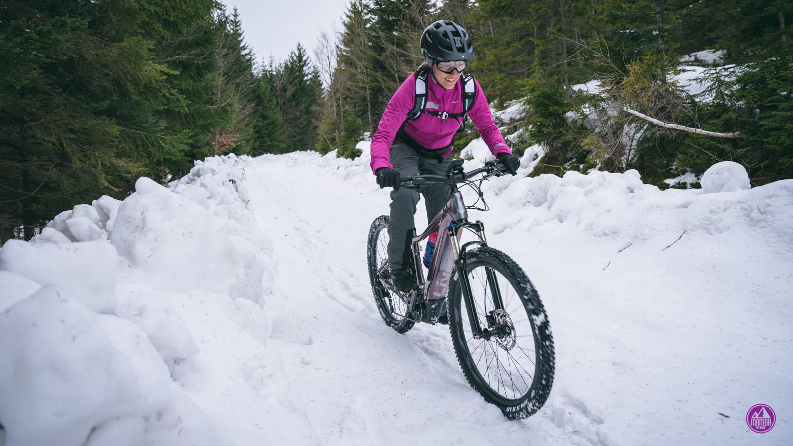 Zimą na rowerze