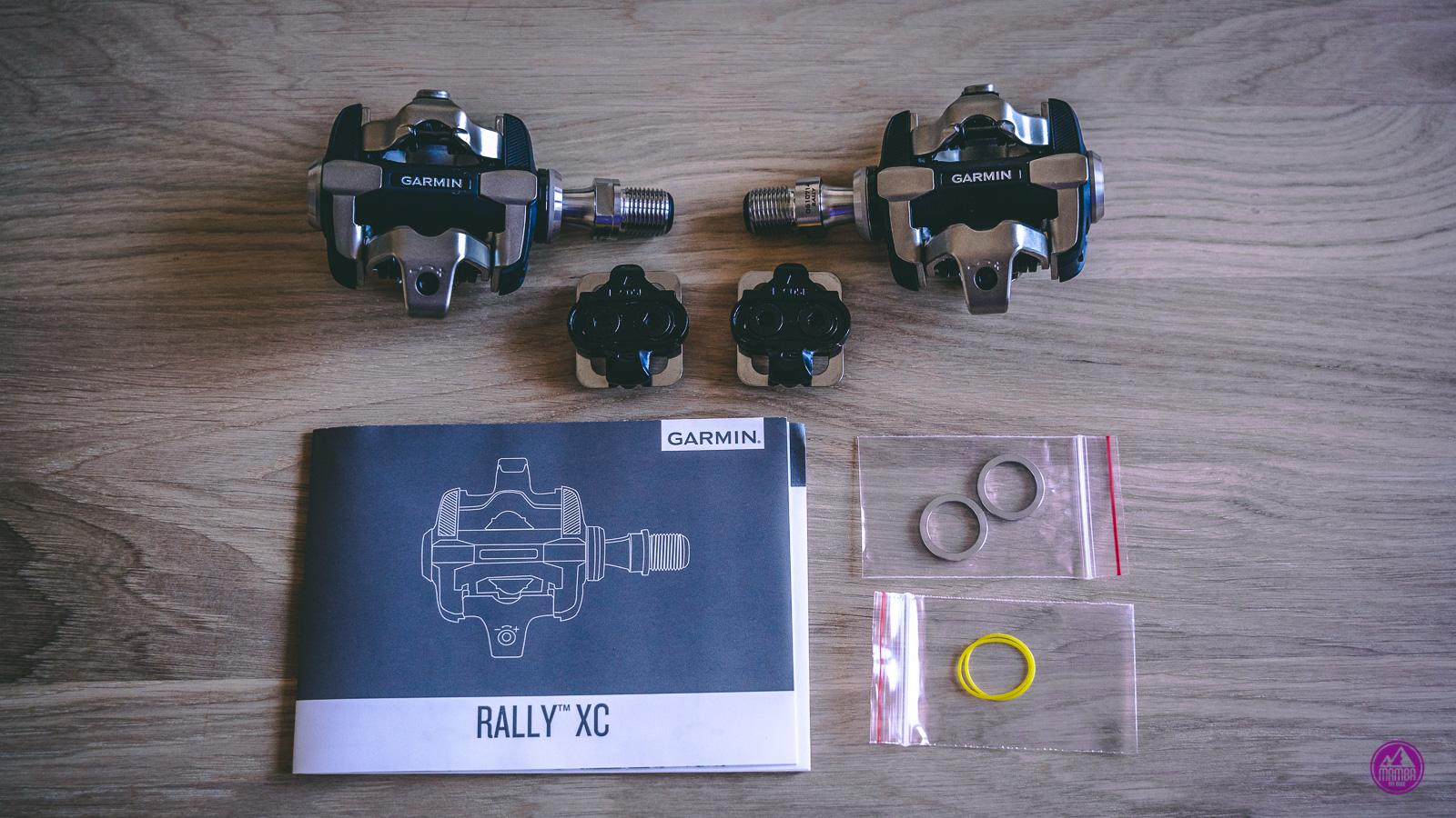 Pedały Garmin Rally XC200