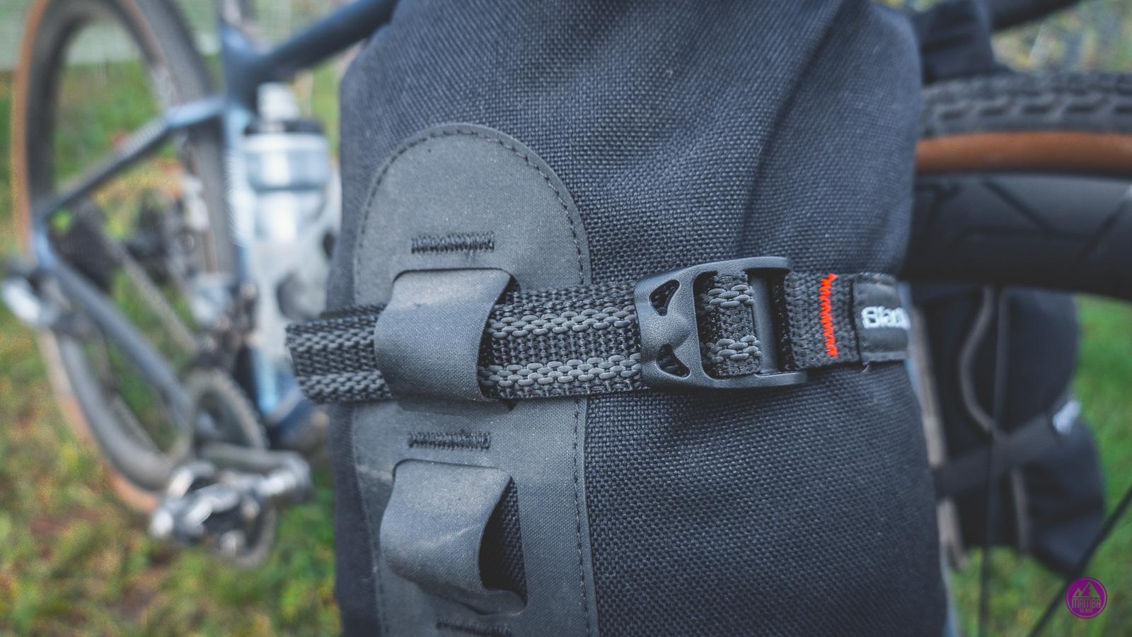 Torby bikepackingowe  na widelcu